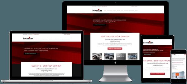 Referenzbild für Webdesign und SEO für ein Unternehmen aus Siegen