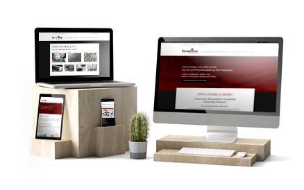 Ein Beispielbild für modernes Webdesign für Unternehmen aus Siegen